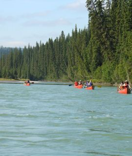 Mountain River Canoe Adventure, K5