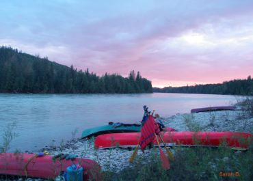 guided canoe trips in Canada