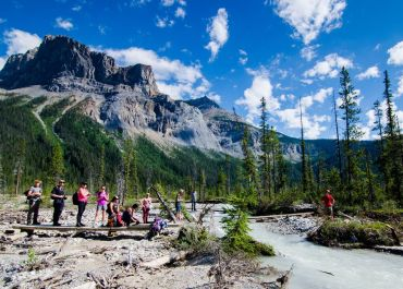 Yoho National Park, Canada, active tour