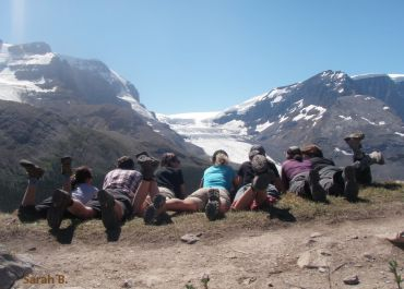 canadian rockies, hiking tour, adventure