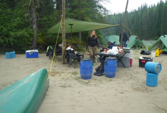 guided canoe trip, multi day, primitive camping, wilderness
