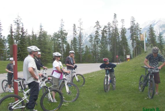 family trip, fun, activities, biking