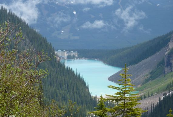 Lake Louise, banff national park, best guided hike